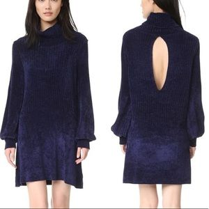 💙 NWOT Dark Blue Sweater Dress 💙